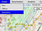 GPS Online Routen Planer