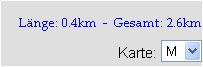 Routenlänge